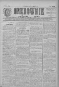 Orędownik: najstarsze ludowe pismo narodowe i katolickie w Wielkopolsce 1911.11.10 R.41 Nr257