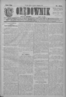 Orędownik: najstarsze ludowe pismo narodowe i katolickie w Wielkopolsce 1911.11.11 R.41 Nr258