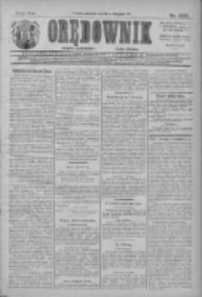 Orędownik: najstarsze ludowe pismo narodowe i katolickie w Wielkopolsce 1911.11.12 R.41 Nr259