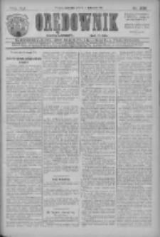 Orędownik: najstarsze ludowe pismo narodowe i katolickie w Wielkopolsce 1911.11.16 R.41 Nr262