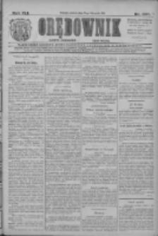 Orędownik: najstarsze ludowe pismo narodowe i katolickie w Wielkopolsce 1911.11.21 R.41 Nr266