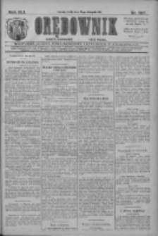 Orędownik: najstarsze ludowe pismo narodowe i katolickie w Wielkopolsce 1911.11.22 R.41 Nr267