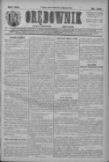 Orędownik: najstarsze ludowe pismo narodowe i katolickie w Wielkopolsce 1911.11.25 R.41 Nr269