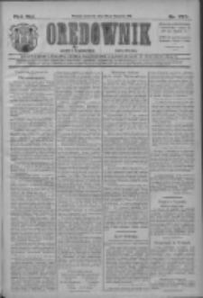 Orędownik: najstarsze ludowe pismo narodowe i katolickie w Wielkopolsce 1911.11.26 R.41 Nr270