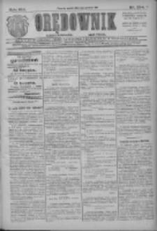 Orędownik: najstarsze ludowe pismo narodowe i katolickie w Wielkopolsce 1911.12.01 R.41 Nr274