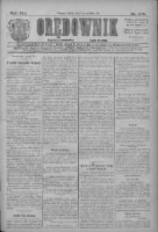Orędownik: najstarsze ludowe pismo narodowe i katolickie w Wielkopolsce 1911.12.02 R.41 Nr275