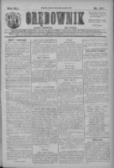 Orędownik: najstarsze ludowe pismo narodowe i katolickie w Wielkopolsce 1911.12.05 R.41 Nr277