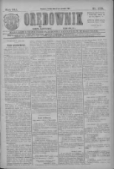 Orędownik: najstarsze ludowe pismo narodowe i katolickie w Wielkopolsce 1911.12.06 R.41 Nr278