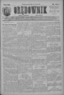 Orędownik: najstarsze ludowe pismo narodowe i katolickie w Wielkopolsce 1911.12.07 R.41 Nr279