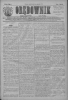Orędownik: najstarsze ludowe pismo narodowe i katolickie w Wielkopolsce 1911.12.08 R.41 Nr280