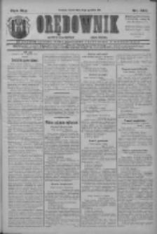 Orędownik: najstarsze ludowe pismo narodowe i katolickie w Wielkopolsce 1911.12.13 R.41 Nr283