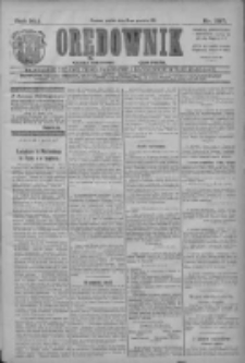 Orędownik: najstarsze ludowe pismo narodowe i katolickie w Wielkopolsce 1911.12.15 R.41 Nr285