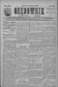 Orędownik: najstarsze ludowe pismo narodowe i katolickie w Wielkopolsce 1911.12.17 R.41 Nr287