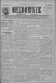 Orędownik: najstarsze ludowe pismo narodowe i katolickie w Wielkopolsce 1911.12.19 R.41 Nr288
