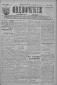 Orędownik: najstarsze ludowe pismo narodowe i katolickie w Wielkopolsce 1911.12.20 R.41 Nr289