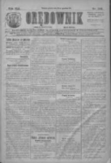 Orędownik: najstarsze ludowe pismo narodowe i katolickie w Wielkopolsce 1911.12.29 R.41 Nr295