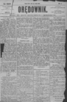 Orędownik: pismo dla spraw politycznych i społecznych 1904.01.09 R.34 Nr6