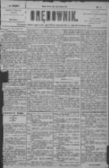 Orędownik: pismo dla spraw politycznych i społecznych 1904.01.12 R.34 Nr8