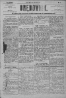 Orędownik: pismo dla spraw politycznych i społecznych 1904.01.15 R.34 Nr11
