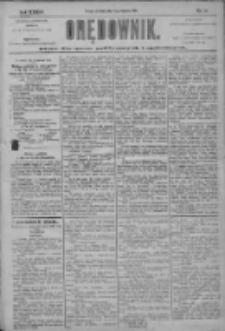 Orędownik: pismo dla spraw politycznych i społecznych 1904.01.17 R.34 Nr13