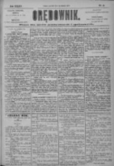 Orędownik: pismo dla spraw politycznych i społecznych 1904.01.21 R.34 Nr16