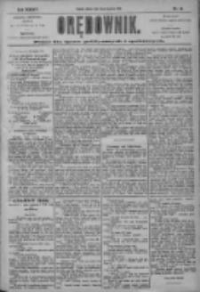 Orędownik: pismo dla spraw politycznych i społecznych 1904.01.23 R.34 Nr18