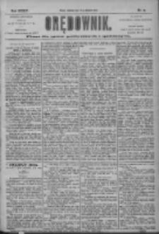 Orędownik: pismo dla spraw politycznych i społecznych 1904.01.24 R.34 Nr19
