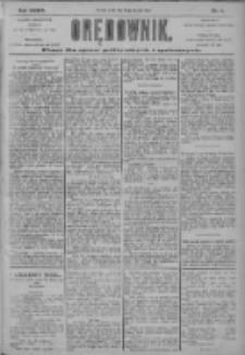 Orędownik: pismo dla spraw politycznych i społecznych 1904.01.27 R.34 Nr21