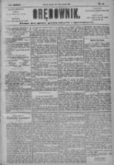 Orędownik: pismo dla spraw politycznych i społecznych 1904.01.28 R.34 Nr22