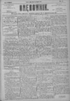 Orędownik: pismo dla spraw politycznych i społecznych 1904.01.29 R.34 Nr23