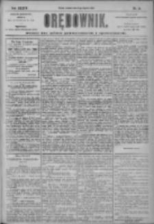 Orędownik: pismo dla spraw politycznych i społecznych 1904.01.31 R.34 Nr25