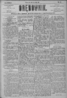 Orędownik: pismo dla spraw politycznych i społecznych 1904.02.09 R.34 Nr31
