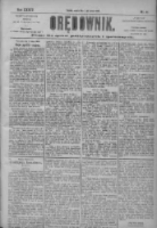 Orędownik: pismo dla spraw politycznych i społecznych 1904.02.13 R.34 Nr35