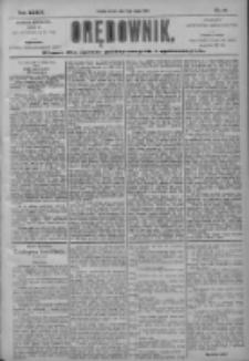 Orędownik: pismo dla spraw politycznych i społecznych 1904.02.16 R.34 Nr37