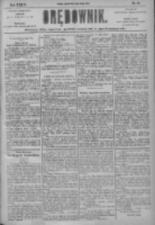 Orędownik: pismo dla spraw politycznych i społecznych 1904.02.19 R.34 Nr40