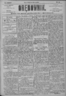 Orędownik: pismo dla spraw politycznych i społecznych 1904.02.28 R.34 Nr48