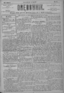 Orędownik: pismo dla spraw politycznych i społecznych 1904.03.01 R.34 Nr49