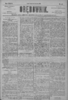 Orędownik: pismo dla spraw politycznych i społecznych 1904.03.09 R.34 Nr56