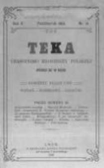 Teka: czasopismo młodzieży polskiej. 1903 R.5 nr10