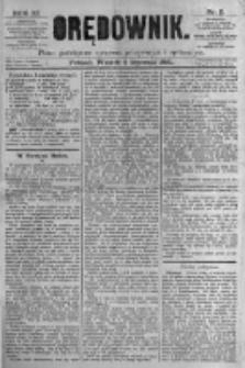 Orędownik: pismo poświęcone sprawom politycznym i spółecznym. 1881.01.04 R.11 nr2