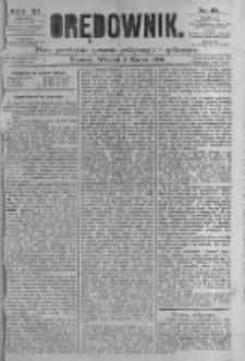 Orędownik: pismo poświęcone sprawom politycznym i spółecznym. 1881.03.08 R.11 nr29