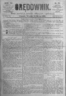Orędownik: pismo poświęcone sprawom politycznym i spółecznym. 1881.03.22 R.11 nr35