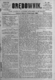 Orędownik: pismo poświęcone sprawom politycznym i spółecznym. 1881.04.02 R.11 nr40