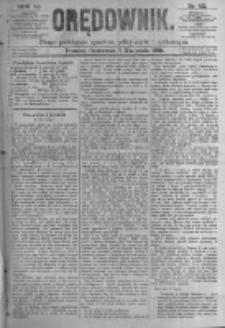 Orędownik: pismo poświęcone sprawom politycznym i spółecznym. 1881.04.07 R.11 nr42