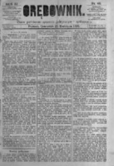 Orędownik: pismo poświęcone sprawom politycznym i spółecznym. 1881.04.21 R.11 nr48