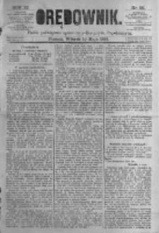 Orędownik: pismo poświęcone sprawom politycznym i spółecznym. 1881.05.10 R.11 nr56