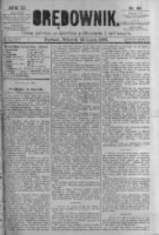 Orędownik: pismo poświęcone sprawom politycznym i spółecznym. 1881.07.12 R.11 nr83