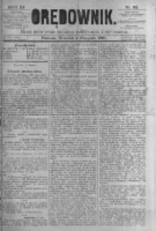Orędownik: pismo poświęcone sprawom politycznym i spółecznym. 1881.08.02 R.11 nr92