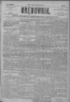 Orędownik: pismo dla spraw politycznych i społecznych 1904.03.10 R.34 Nr57