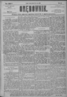 Orędownik: pismo dla spraw politycznych i społecznych 1904.03.13 R.34 Nr60
